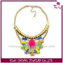 Charms women acrylic gold chain wholesale fashion jewellery dozen hip hop jewelry overseas