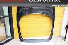 Carbon Fiber Rear Hatch Trunk with Break Light Hole Fit For 1993-1998 Supra MKIV JZA80