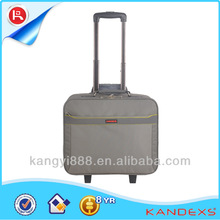 High capacity functionable laptop trolley travel bags With Customized Logo