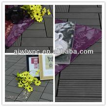 300*300*22mm wpc plastic composite wood scrabble tiles