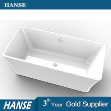 HS-EB002 low price one person simple bathtub sample elegant design