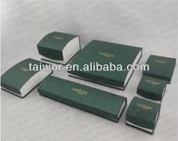 Velvet Custom Necklace, Earring, Rings and Bracelet Packaging Paper Box