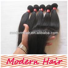 "Wholesale Brazilian Hair 5a 10""-30"" inch Unprocessed 100% Brazilian Virgin Hair Straight"