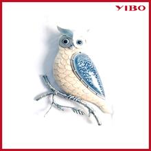 17'' metal owls home decor iron handicrafts
