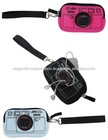 [Cheap Gifts Online]Camera Print Multi Purpose Pouch (Black / Blue / Pink)
