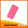 OEM For iPhone 4 GSM Pink Back Cover (No Apple Logo) For iPhone4 Replacement