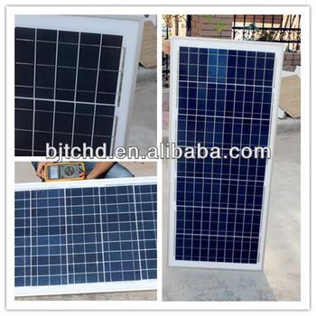 high quality solar panel system 100W polysilicon solar panel