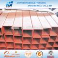 Dpbd 89*89mm c250 pintura electrostática rectangualr tubos de metal