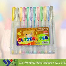 glitter gel ink pen STD-12