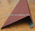 Couleur aluminium métal revêtu tuile / Thaws prix des bardeaux d'asphalte
