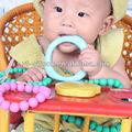 vente usine de soins infirmiers bébé fda silicone collier bijoux