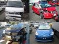 de alta calidad de automóviles usados toyota hiace techo alto de auto chatarra para la venta