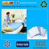 hospital use blue dispoable pp spunbond non wovne fabric bedsheet