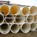 400mm pvc grande diametro di plastica doppia parete tubo corrugato per agricoltura
