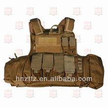 NIJ IIIA military bullet proof quick release vest