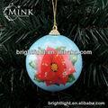 de espuma de poliestireno de la flor de la decoración de navidad bola bola de navidad