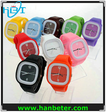 Wholesale china cheap silicone custom design watch for men/women/kids with waterproof
