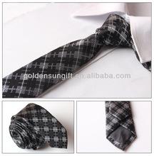 Mens Print Custom Silk Fabric Neckties