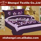 Patchwork velvet wedding quilt set cheap king size sheet wholesale bed in a bag luxury embroidery bed linen 3d comforter set