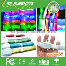 remote controled LED flashing ireland silicone wristband