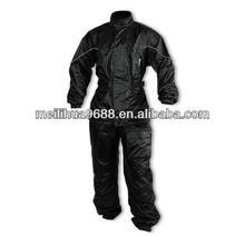 Black Motorcycle Clothing Motorcycle Riding Rain Suit