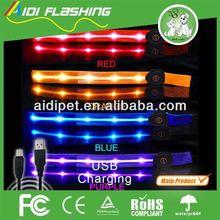 LED light up armband Sports safety leg bands / promotion flashing leg band