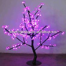 2014 pink Chirstmas decor cherry blossom led tree