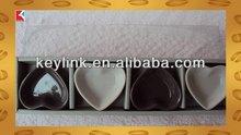 High quality antique porcelain square cake plate