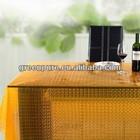 3D EVA rosette table cloth