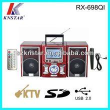 Digital clock boombox FM radio