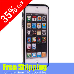 Wholesale TPU bumper for iphone5s, for iphone 5s bumper case