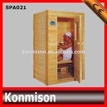 Home generator infrared herbal sauna steam