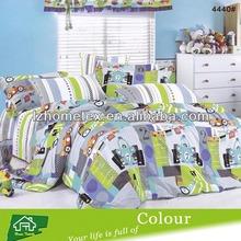 Kids cute cartoon design twin size duvet cover bedding set