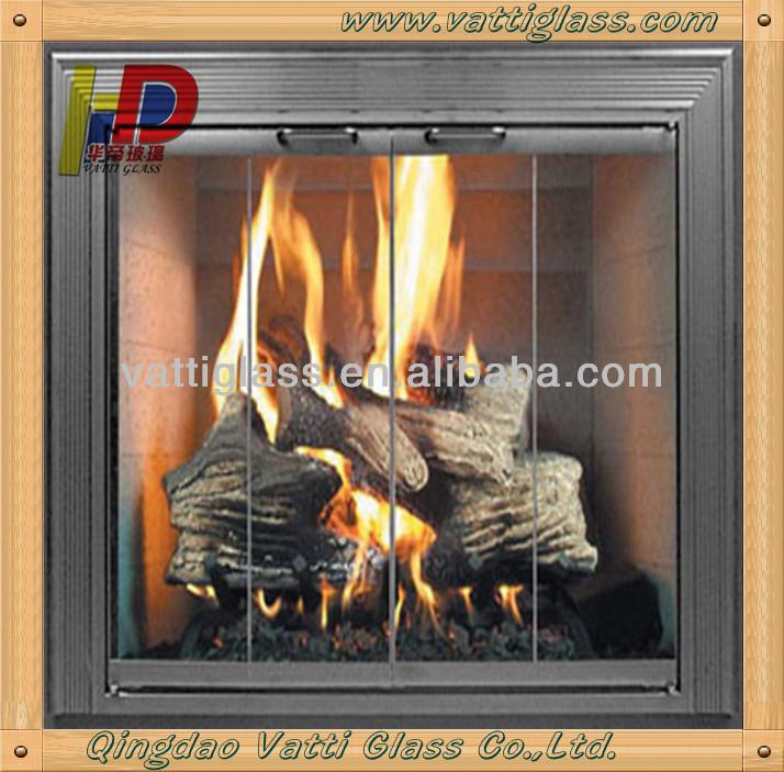 fireplace glass doors,fireplace glass screen,tempered glass fireplace screen