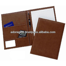 2015 new fashion organizer planner / new design executive leather planner / weekly planner notepad with pen loop