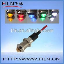10mm diameter metal indicator lamp turn signal flasher
