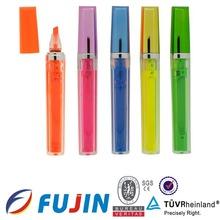 lipstick highlighter/liquid highlighter pen/highlighter ink refill promation