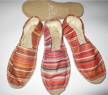 2014 Woman flat espadrille shoes