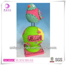 Resin garden statue of Bird
