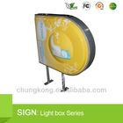 shenzhen acrylic, aluminum, metal advertising led lighting box factory