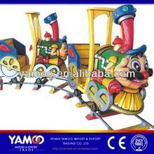 amusement park train/mini amusement park track train for sale