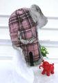venta al por mayor clásico conejo de piel de tela sombrero