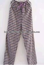 yarn dyed pyjamas for sleepwear