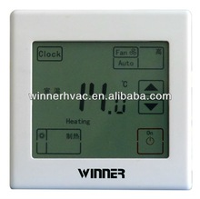 touch screen blue backlight Hot sale digital thermostat temperature controller