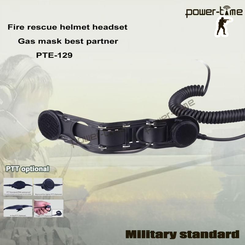 Uk/prc-349 Army Radio Skull Bone Conduction Headset Pte-129 - Buy ...