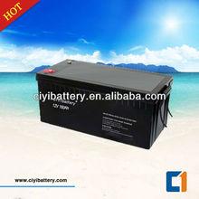 Long Designed Life Deep Cycle Battery Solar Power Storage Battery 12V 180AH