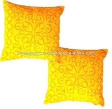 New Arrivals !! Designer Handmade cotton applique work cushion covers