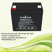 12v4ah for solar charger battery sla long life storage ups battery sla long life