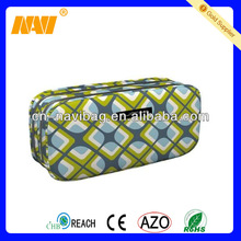 Chinese professional cosmetic bag factory produce double layer cosmetic bag
