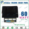 Hot sell portable monocrystalline photovoltaic solar panel 60W/18V 3400mAH